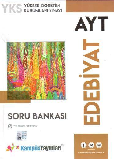 Kampüs Yayınları  AYT Edebiyat Soru Bankası