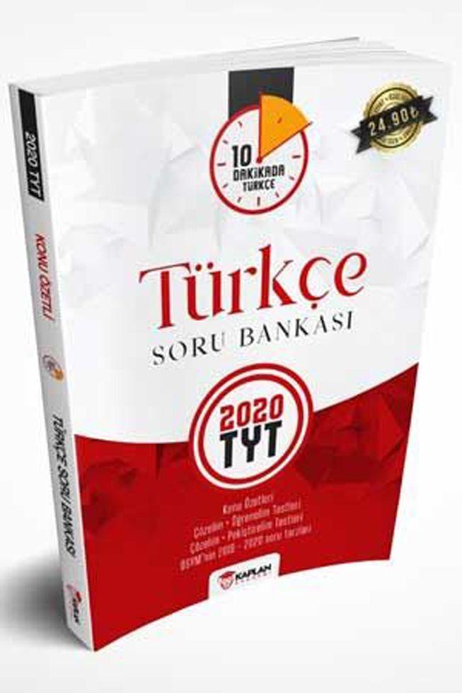 Kaplan Akademi Yayınları TYT Türkçe Konu Özetli Soru Bankası
