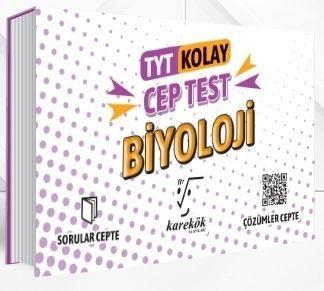 Karekök Yayınları TYT Biyoloji Kolay Cep Test