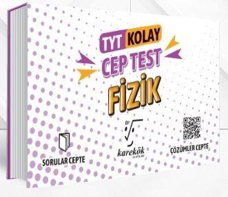 Karekök Yayınları TYT Fizik Kolay Cep Test