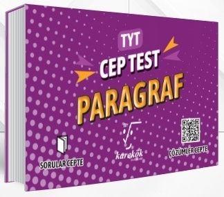 Karekök Yayınları TYT Paragraf Orta Cep Test