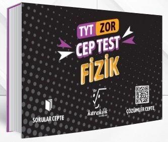Karekök Yayınları TYT Fizik Zor Cep Test
