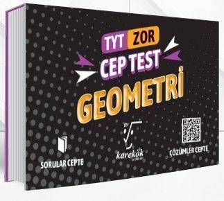 Karekök Yayınları TYT Geometri Zor Cep Test
