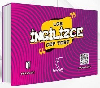 Karekök Yayınları 8. Sınıf LGS İngilizce Cep Test