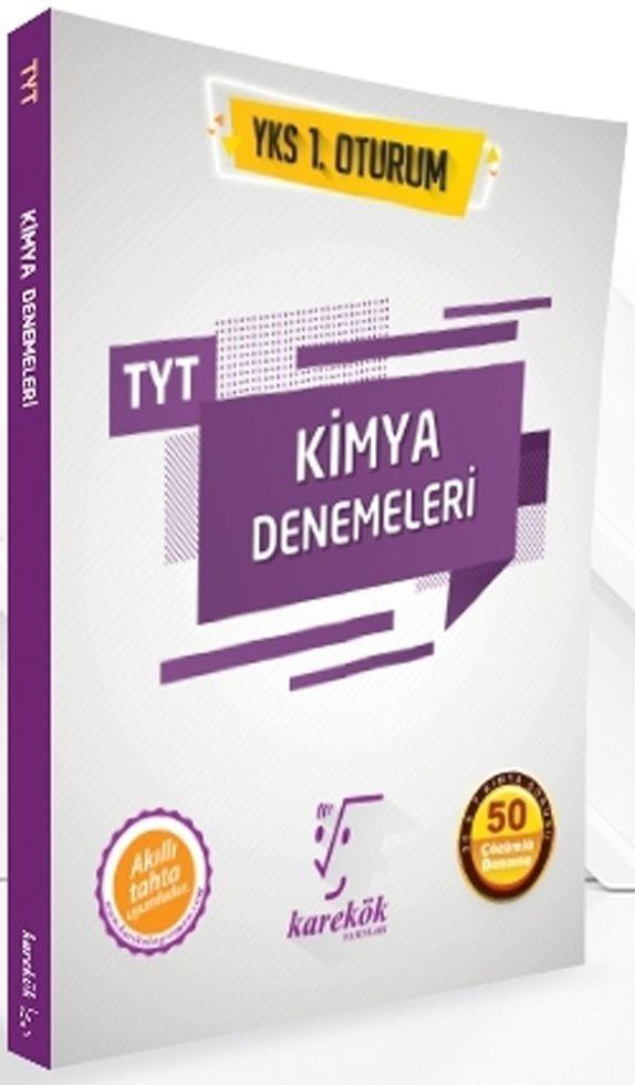 Karekök Yayınları TYT Kimya 50 Çözümlü Deneme