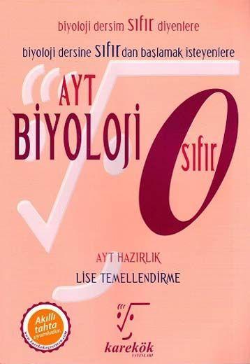 Karekök Yayınları AYT Biyoloji Sıfır