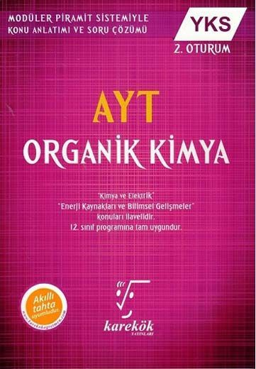 Karekök Yayınları AYT Organik Kimya Konu Anlatımlı