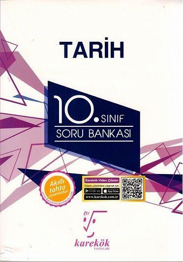 Karekök Yayınları 10. Sınıf Tarih Soru Bankası