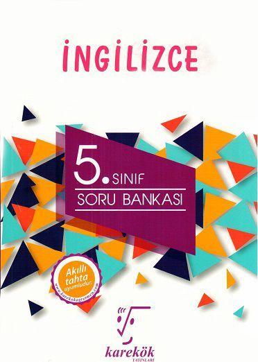 Karekök Yayınları 5. Sınıf İngilizce Soru Bankası