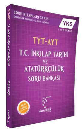 Karekök Yayınları AYT T.C. İnkılap Tarihi ve Atatürkçülük Soru Bankası