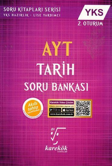 Karekök Yayınları AYT Tarih Soru Bankası