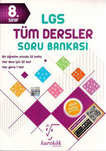 Karekök Yayınları 8. Sınıf LGS Tüm Dersler Soru Bankası