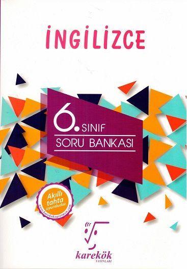 Karekök Yayınları 6. Sınıf İngilizce Soru Bankası