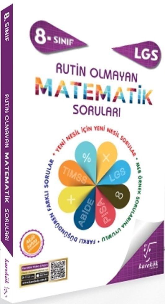 Karekök Yayınları 8. Sınıf LGS Rutin Olmayan Matematik Soruları