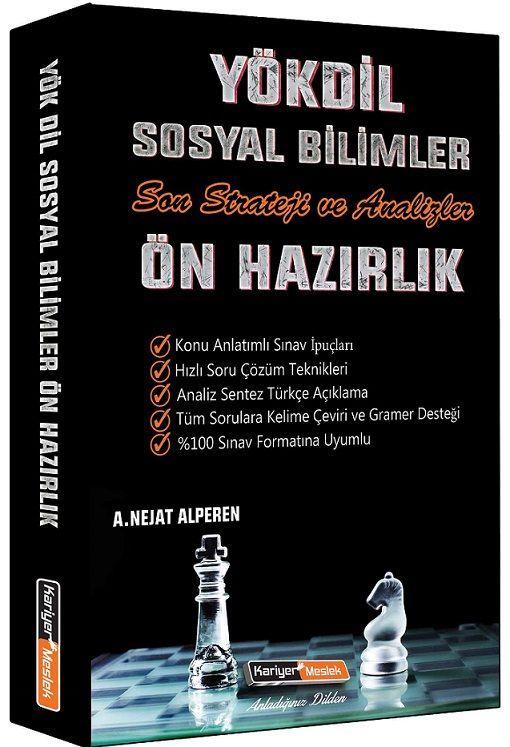 Kariyer Meslek Yayınları YÖKDİL Sosyal Bilimler Son Strateji ve Analizler Ön Hazırlık