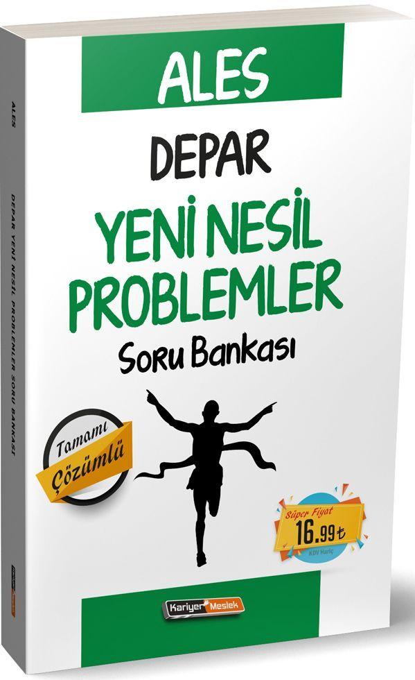 Kariyer Meslek Yayınları ALES Depar Yeni Nesil Problemler Soru Bankası