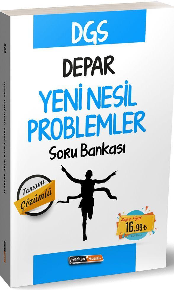 Kariyer Meslek Yayınları DGS Depar Yeni Nesil Problemler Soru Bankası
