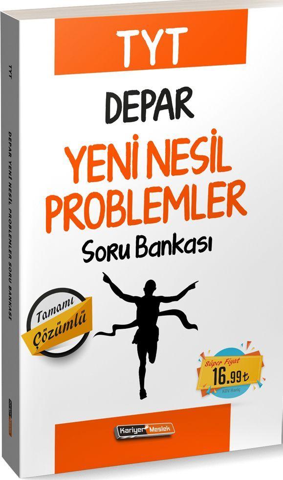 Kariyer Meslek Yayınları TYT Depar Yeni Nesil Problemler Soru Bankası