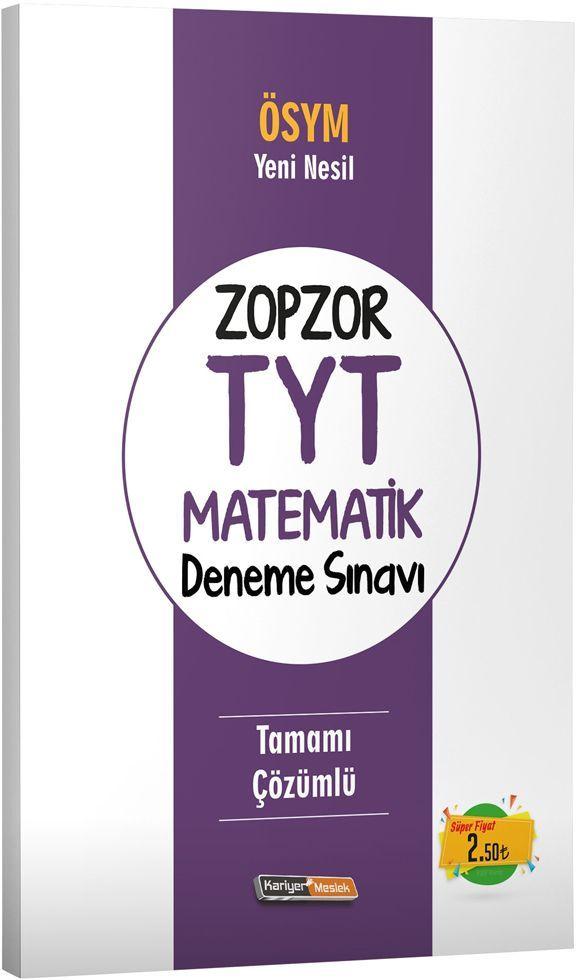 Kariyer Meslek Yayınları ZopZor TYT Matematik Deneme Sınavı