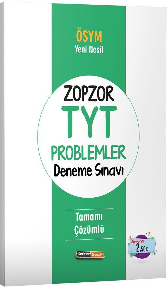 Kariyer Meslek Yayınları ZopZor TYT Problemler Deneme Sınavı