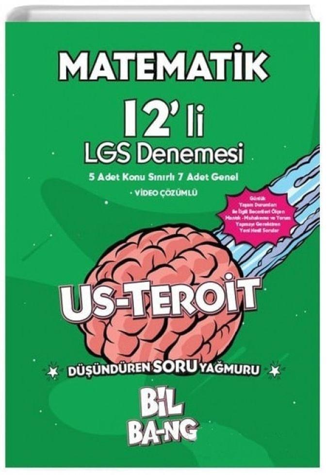 Kültür Yayıncılık 8. Sınıf LGS Matematik Bilbang Usteroit 12 li Denemesi