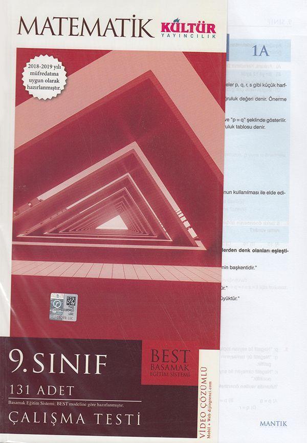 Kültür Yayıncılık 9. Sınıf Matematik BEST Çalışma Testi