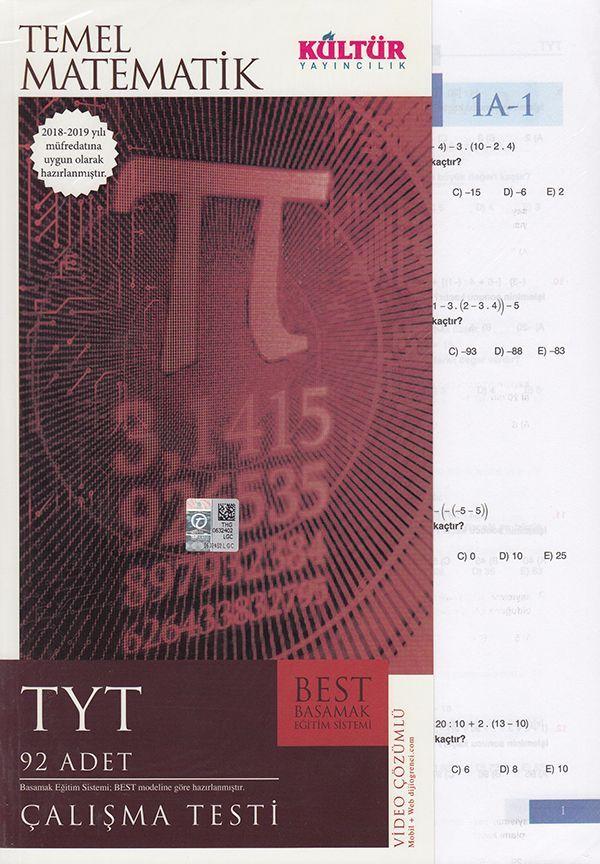 Kültür Yayıncılık TYT Temel Matematik BEST Çalışma Testi
