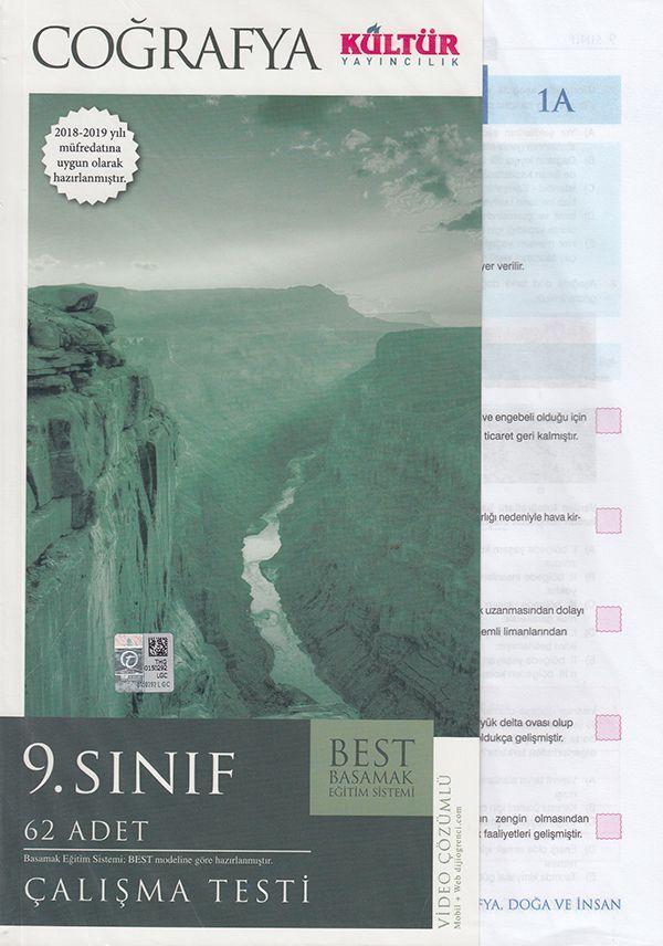 Kültür Yayıncılık 9. Sınıf Coğrafya BEST Çalışma Testi