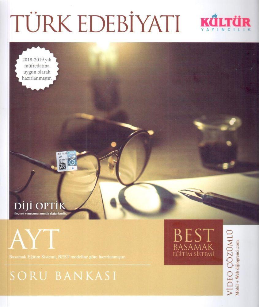 Kültür Yayıncılık AYT Türk Edebiyatı BEST Soru Bankası