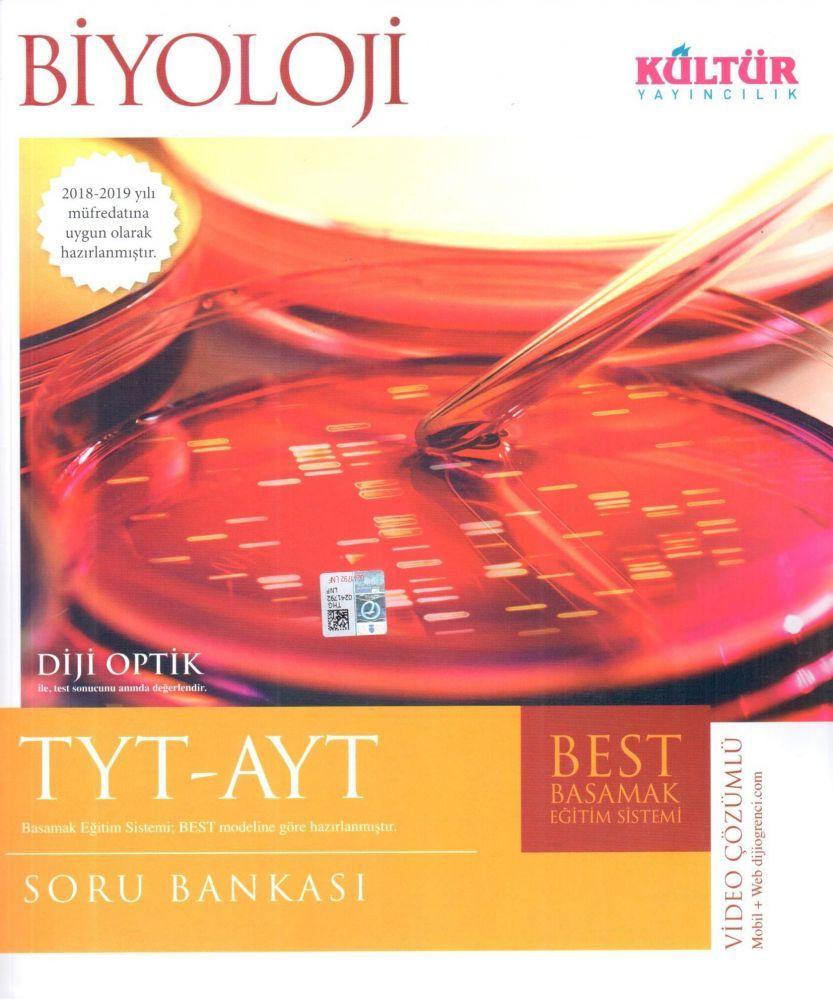 Kültür Yayıncılık TYT AYT Biyoloji BEST Soru Bankası