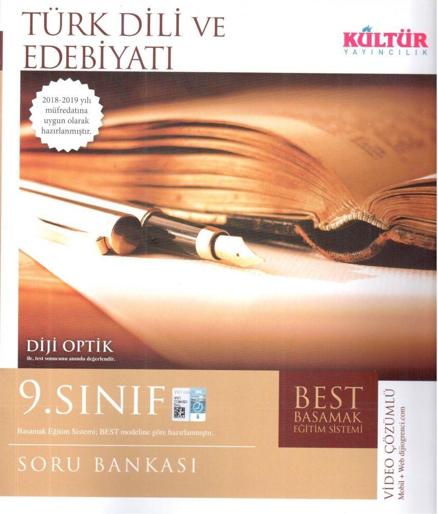 Kültür Yayıncılık  9. Sınıf Türk Dili ve Edebiyatı BEST Soru Bankası