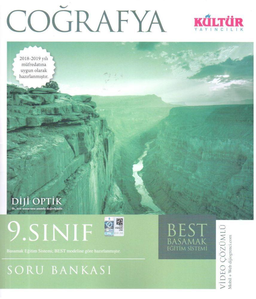 Kültür Yayıncılık  9. Sınıf Coğrafya BEST Soru Bankası