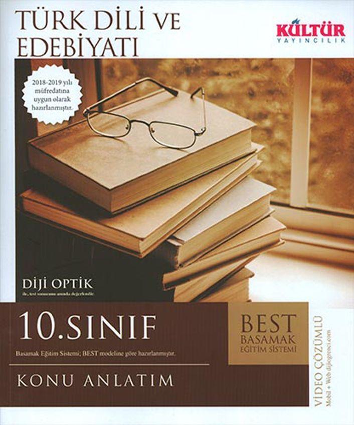Kültür Yayıncılık 10. Sınıf Türk Dili ve Edebiyatı BEST Konu Anlatımı