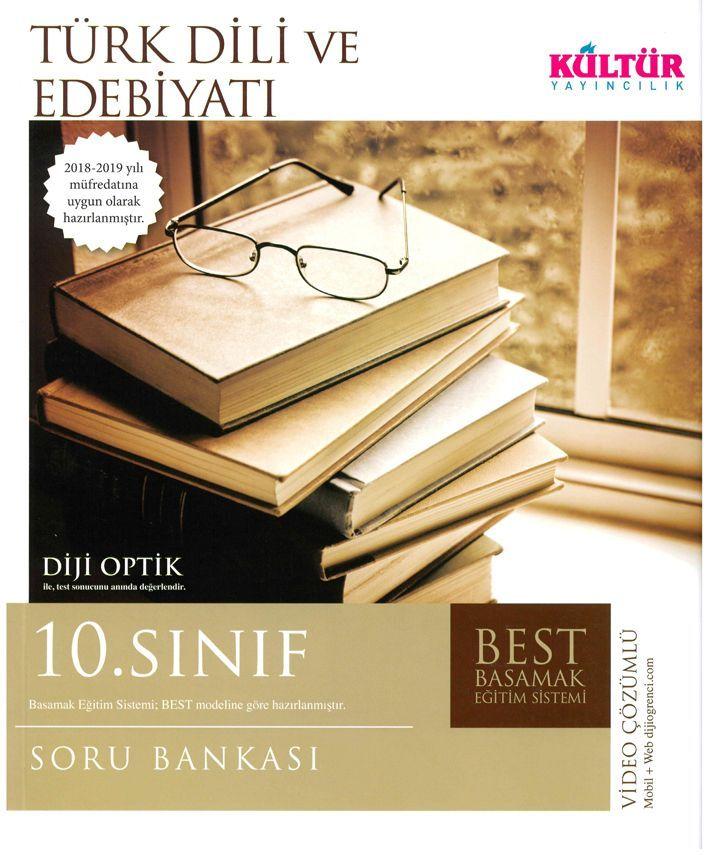 Kültür Yayıncılık 10. Sınıf Türk Dili ve Edebiyatı BEST Soru Bankası