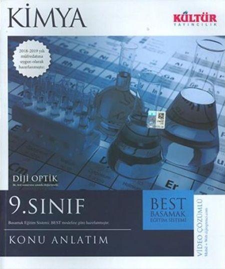 Kültür Yayıncılık 9. Sınıf Kimya BEST Konu Anlatımı