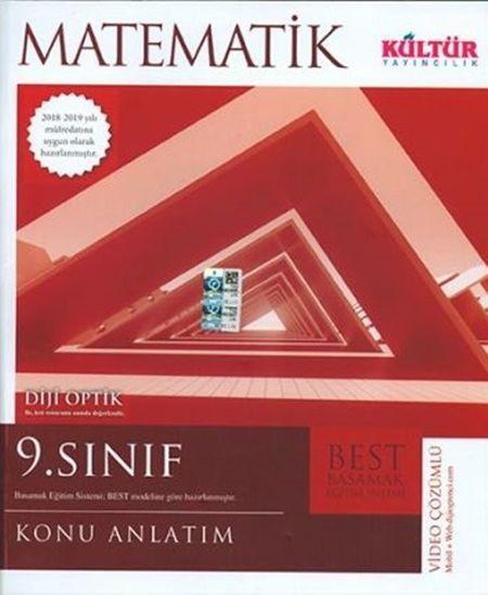 Kültür Yayıncılık 9. Sınıf Matematik BESTKonu Anlatımı