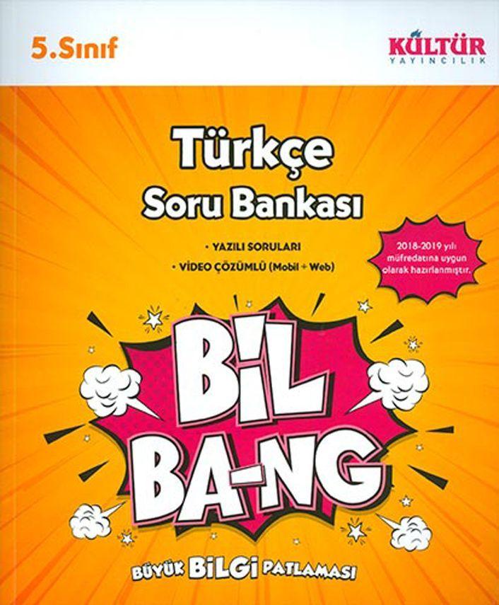 Kültür Yayıncılık 5. Sınıf Türkçe Bil Bang Soru Bankası