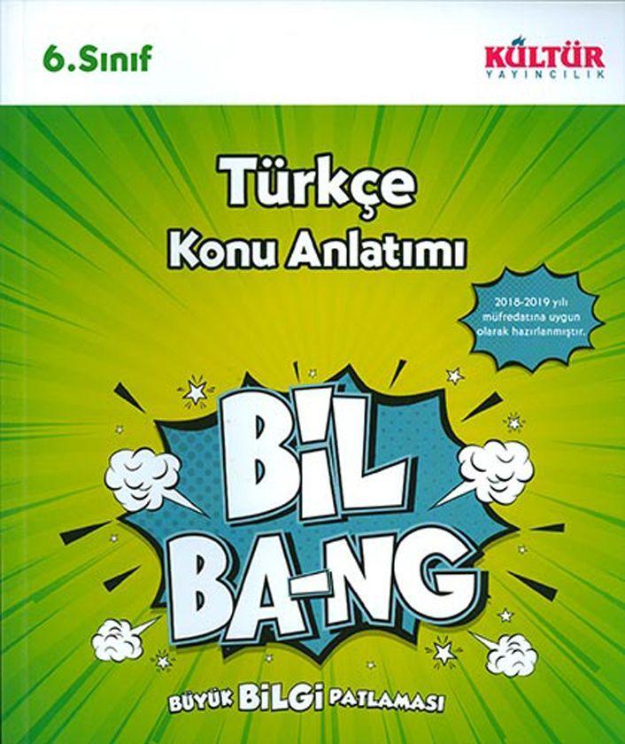 Kültür Yayıncılık 6. Sınıf Türkçe Bil Bang Konu Anlatımı