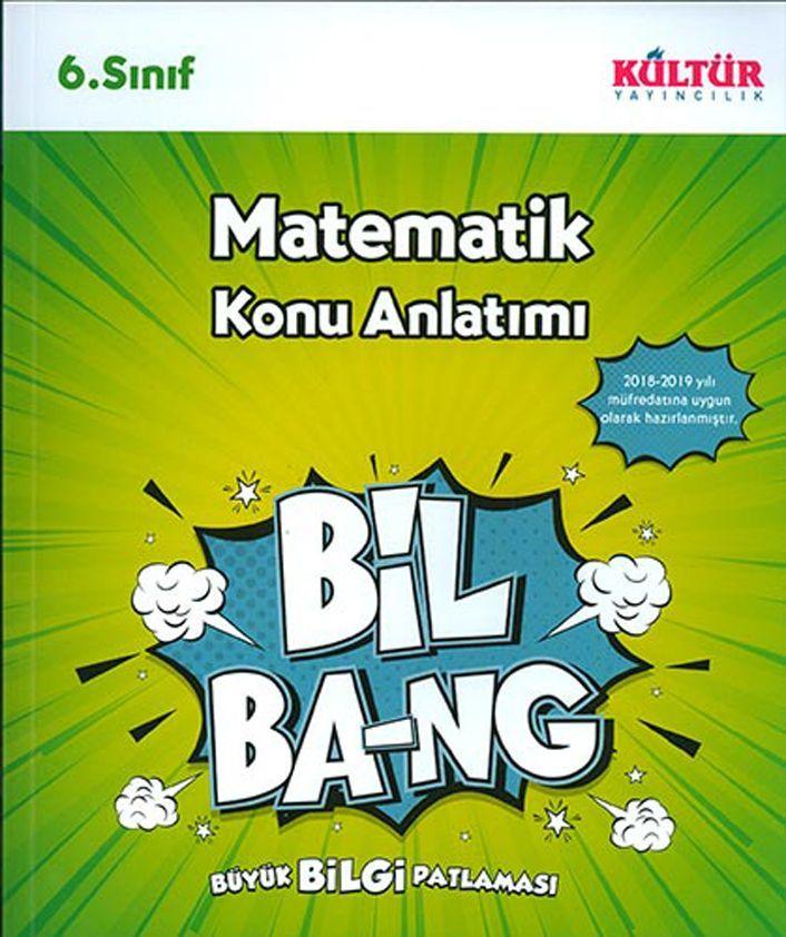 Kültür Yayıncılık 6. Sınıf Matematik Bil Bang Konu Anlatımı
