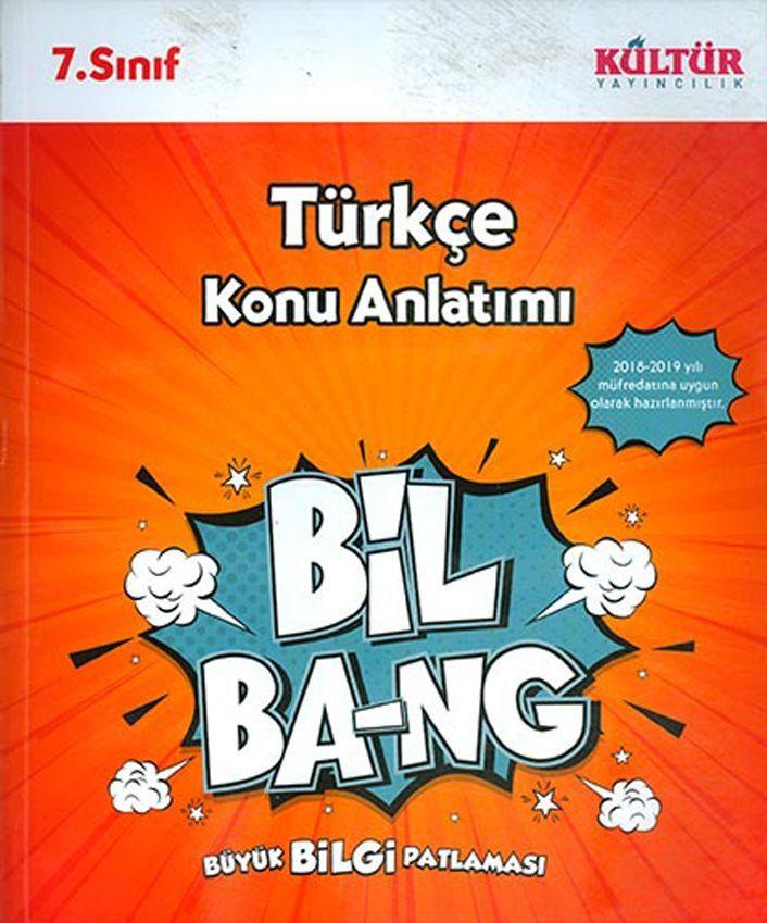 Kültür Yayıncılık 7. Sınıf Türkçe Bil Bang Konu Anlatımı