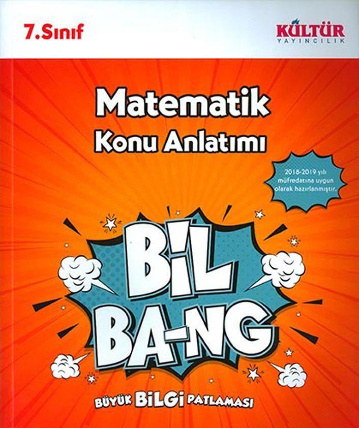 Kültür Yayıncılık 7. Sınıf Matematik Bil Bang Konu Anlatımı