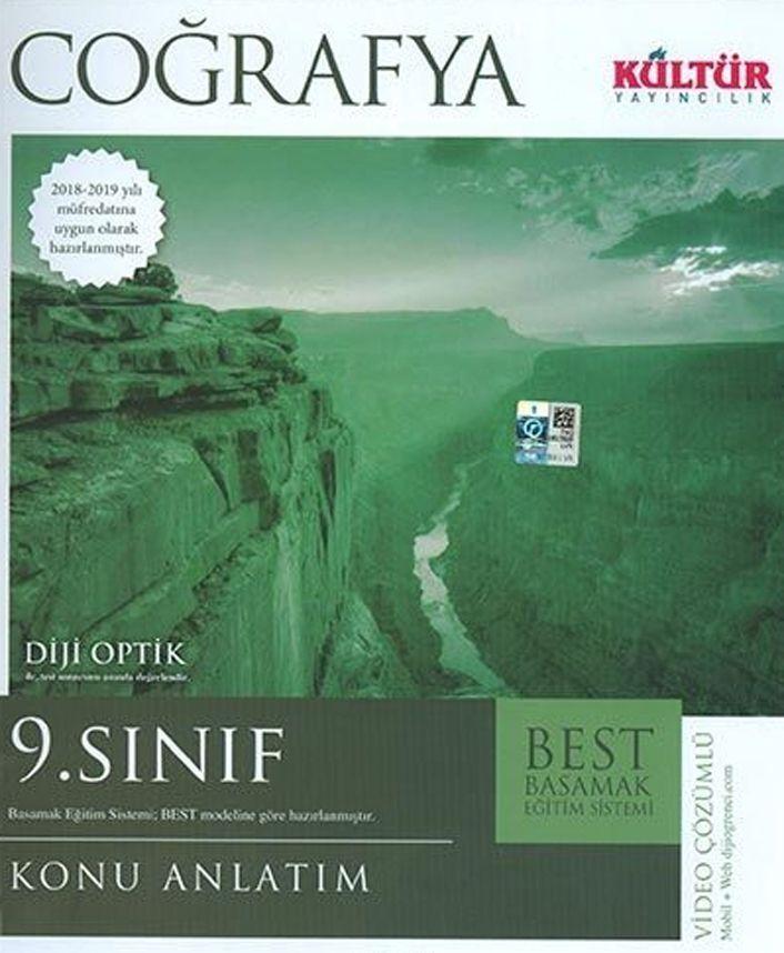 Kültür Yayıncılık 9. Sınıf Coğrafya BEST Konu Anlatım