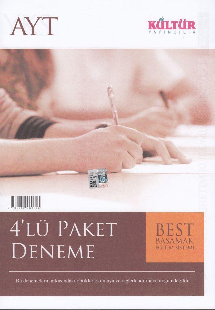 Kültür Yayınları AYT 4?lü Paket Deneme