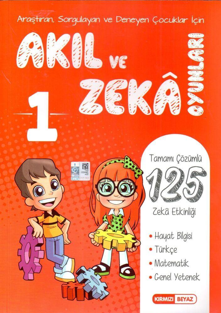 Kırmızı Beyaz Yayınları 1. Sınıf Akıl ve Zeka Oyunları