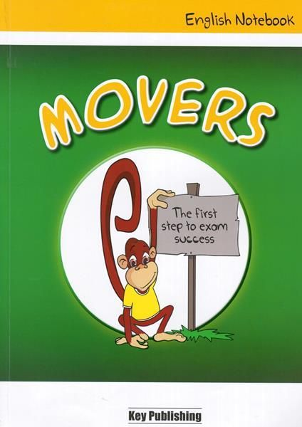 Key Publishing English Notebook Movers