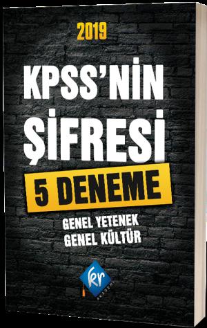 KR Akademi2019 KPSS'nin Şifresi 5 Deneme