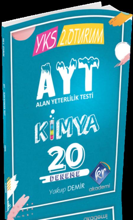 KR AkademiAYT Kimya 20 Deneme