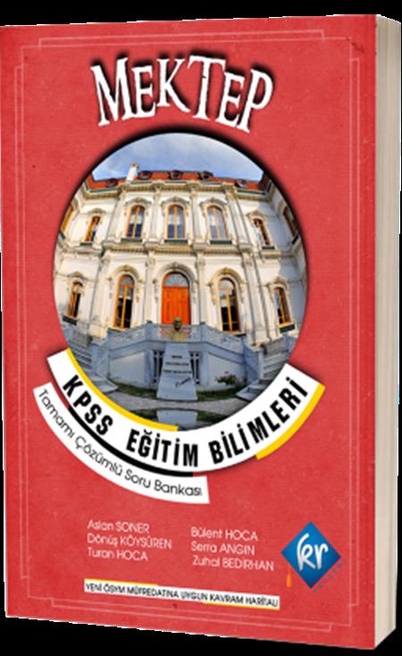 KR AkademiMektep KPSS Eğitim Bilimleri Soru Bankası
