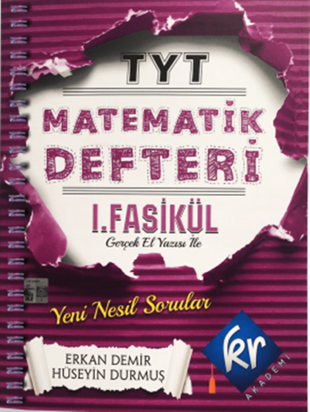 KR AkademiTYT Matematik Defteri 1. Fasikül