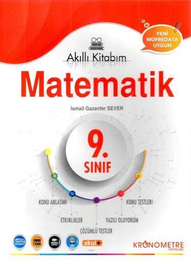 Kronometre Yayınları 9. Sınıf Matematik Akıllı Kitabım